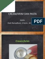 CREAM Dan Pasta
