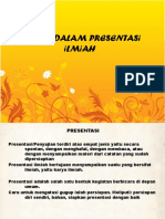 Teknik Presentasi (Vergadering 12)