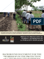 Workshop on the Protection of Land Rights and Patrimony