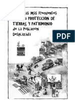 Preguntas más frecuentes sobre la PROTECCIÓN DE TIERRAS Y PATRIMONIO de la Población Desplazada