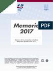 Memoria FCIHS 2017