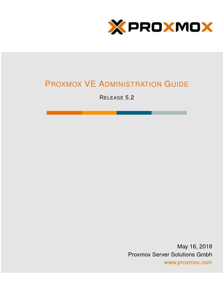 Pve Admin Guide 5 0 - mayo 2018