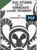 Garwood Whaley - Musical Studies For The Intermediate Drummer.pdf