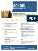 role of school psych