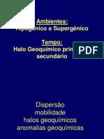 Aula 6 Ambientes Geoquímicos