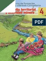 Desarrollo Territorial Actividad Minera 4 2013-Ago
