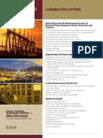CEP Capabilities Listing