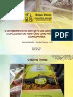 Slides - Pedagogia Do Território (Universidade, educação e intervenção social)