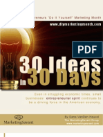 30 Ideas 30 Days