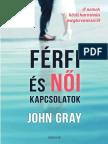 JOHN GRAY - FÉRFI ÉS NŐI KAPCSOLATOK