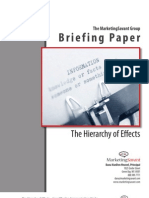 Hierarchy of Effects Briefing Paper