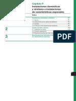 Capitulo p Instalaciones Domestic As Instalaciones Caracteristicas Especiales