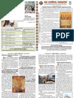 Nr. 21 (2018) Duminica a VII-A Dupa Pasti (a Sf. Parinti de La Sinodul I Ecumenic)