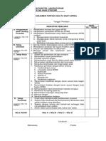 Format Penilaian Ujian Praktek Laboratorium Mtbs