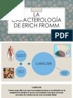 La Caracterología de Erich Fromm