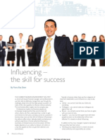 Influencing the Skill for Success