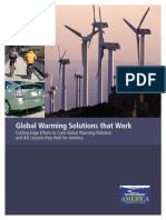 Global Warming Solutions That Work