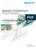Blood Collection Techniques