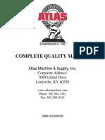 Atlas Machine & Supply, Inc Quality_manual