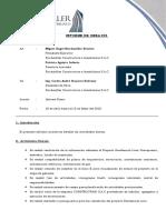 INFORME DE ACTIVIDADES N°01