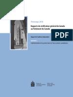 VG Printemps 2018 Rapport 03 L'Administration de La Justice Dans Les Forces Armées Canadiennes Fr