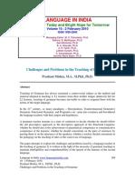 Prashant Challenge Grammar