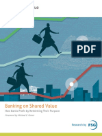 Banking on Shared Value