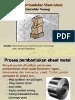 6. Proses Sheet Metal