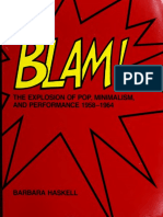 Blam! the Explosion of Pop Minimalism and Performance 1958 - 1964 b