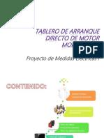 Tablero de Arranque Directo de Motor Monofásico.pptx