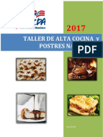 Taller de Alta Cocina y Postres Navideños