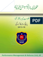 Excise & Texation Department KPK - Performance report 2013-2018