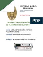 Informe Previo 3. Sistemas de Radiodifusion