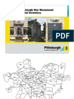 Pittsburgh's Monuments and Memorials Inventory