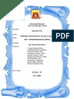 Habilidades Administrativas Tecnicas y Caracteristicas