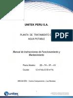 4. Manual de Operacion y Mantenimiento.