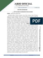 Extracto Inmobiliaria Genfor SPA