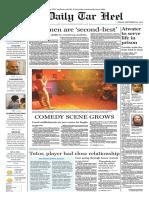 The Daily Tar Heel for September 24, 2010