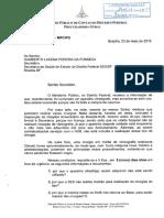 Ofício do Ministério Público de Contas