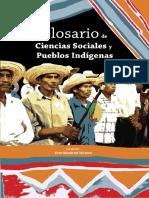 Glosario Ciencias Sociales y Pueblos Indigenas