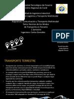 Clasificacion de Modos de Transporte