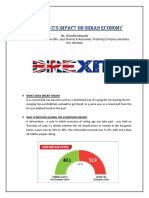 Brexit and Its Impact on Indian Economy Claonline