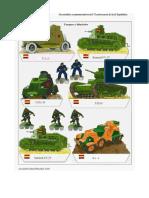 Guerra Civile Spagnola Carri Armati Repubblicani