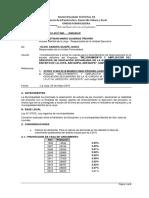 Informe Tecnico N 01 Recomendaciones Para Elaboracion de Exp Tec