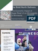 SB LII Post-Event Economic Impact Full Report