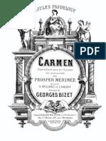 G. Bizet - Carmem (Complete Piano Transcription)