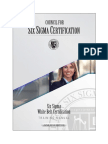 Six Sigma White Belt Certification Training Manual - CSSC 2018-06