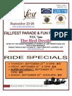 Westminster Fallfest Newsletter Volume 1 Issue 3 September 17 2010