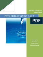 Informe de Potabilizacion de Agua por Damian Lisitras