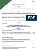 Acuerdo 1-2013 Disposiciones Reglam y Complem a La Ley de Amparo